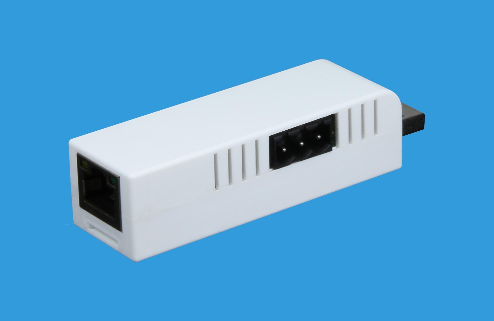 Ethernet zu RS-485 Konverter im USB Stick