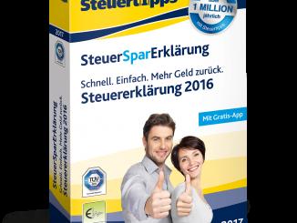 SteuerSparErklärung 2017